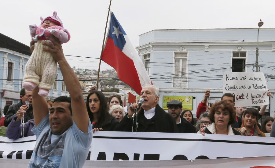 Chilean abortion ease