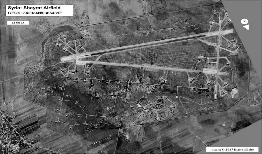 Shayrat Airfield in Homs