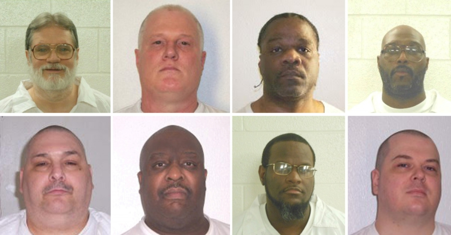Arkansas inmates ask appeals court to review part of ruling