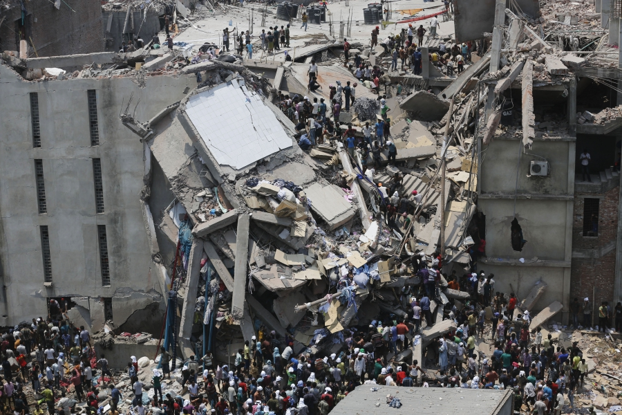 Rana building collapse