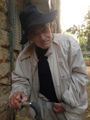 Rami Yizraeli in his Jerusalem neighborhood.