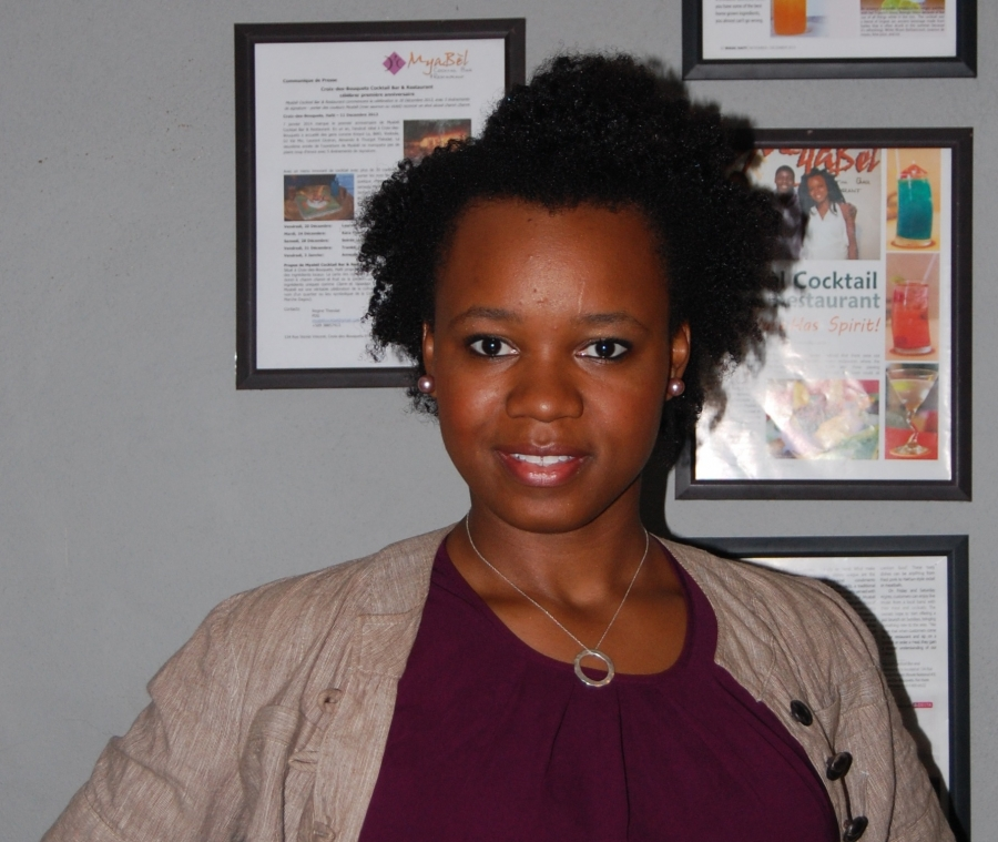 National Director for the Vincentian Family Haiti Initiative, Regine Theodat