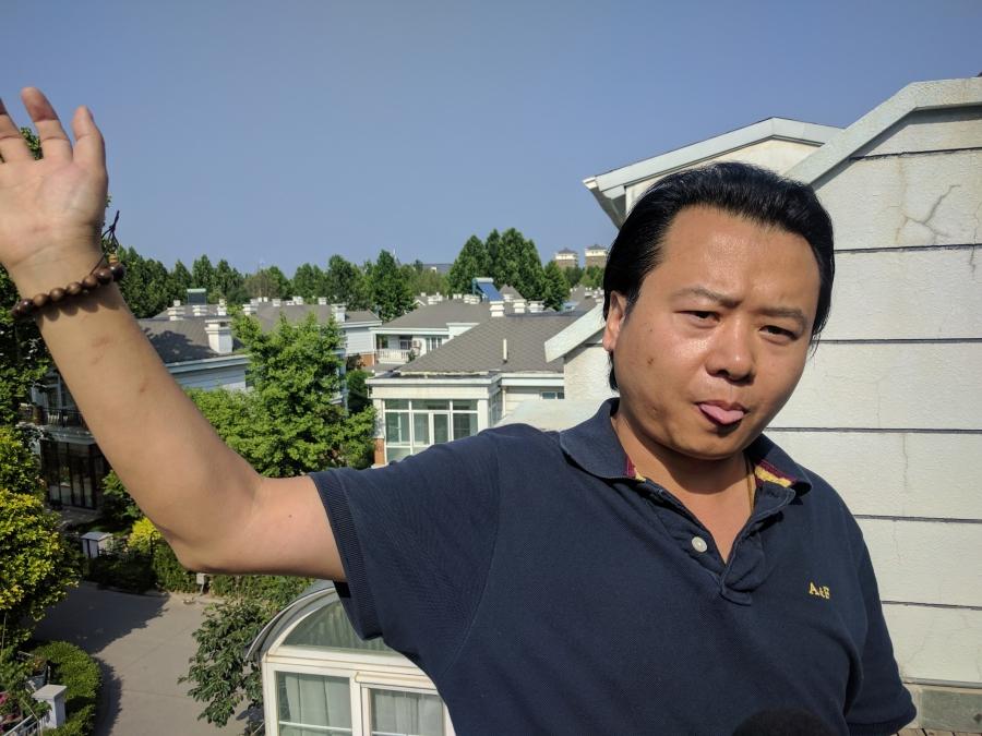 Ren Kai, solar panel salesman in Beijing