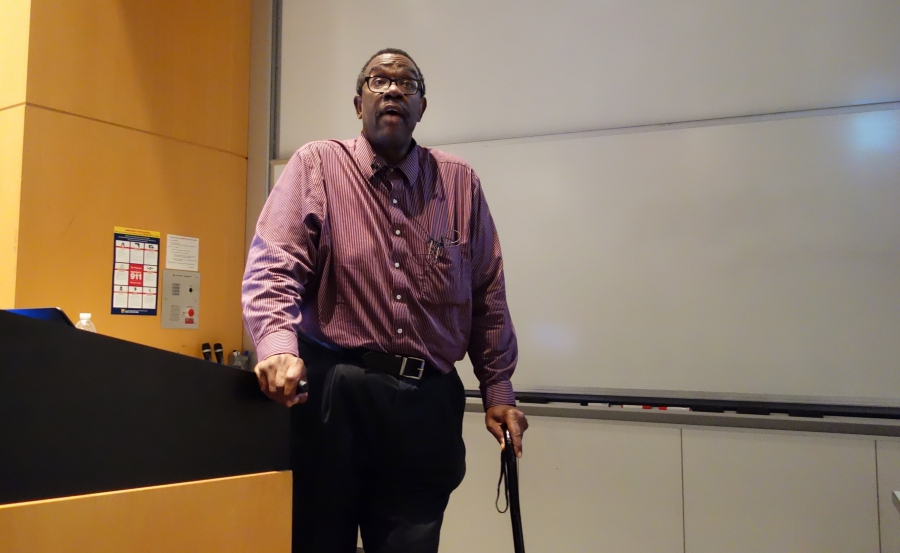 Robert Scott, director of the Center for Engineering Diversity at the University of Michigan