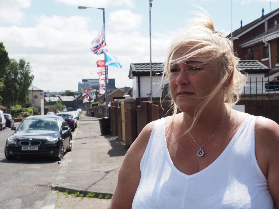 Roberta McFarlane, 44, a medical secretary in Belfast.