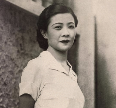 Ruan Lingyu, a Chinese film star from the early 1930s.
