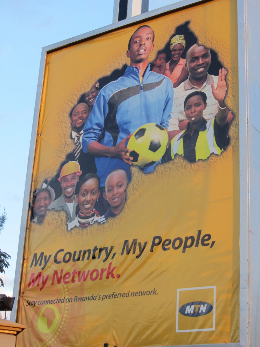 Rwanda Mobile Network Ad