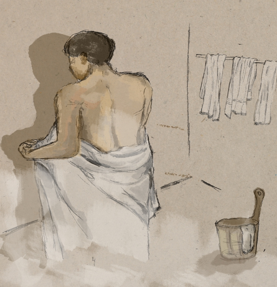 Maitian continued to frequent gay bath houses after he got married.