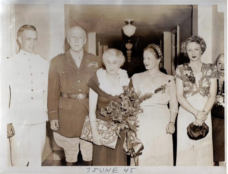 The Patton family – June 7, 1945