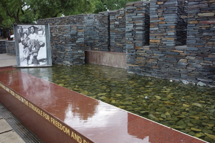 Soweto memorial, in Johannesburg, South Africa
