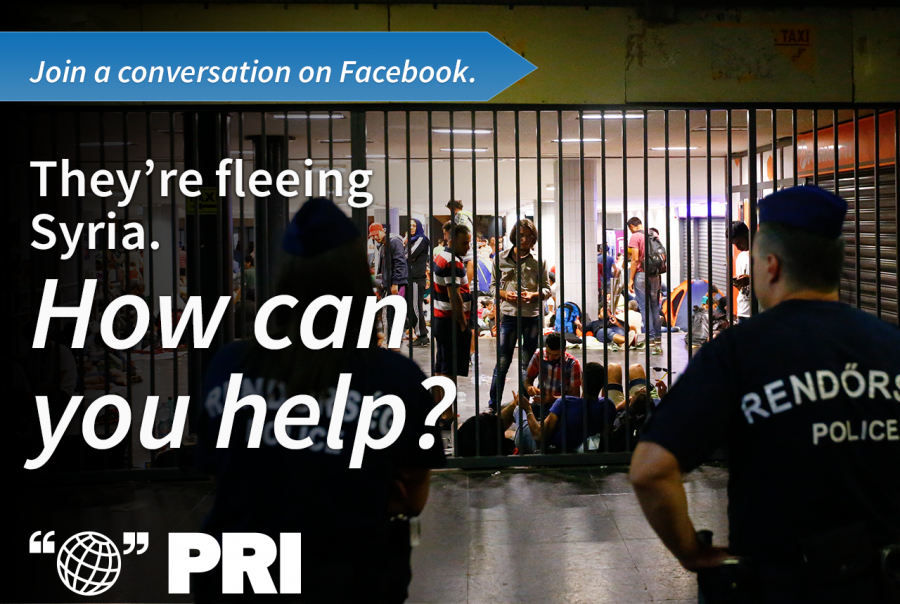 How can you help Syrian refugees? Join the conversation on Facebook.