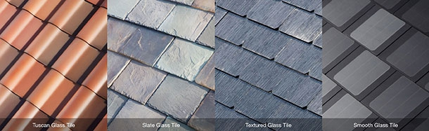 Tesla roof tiles