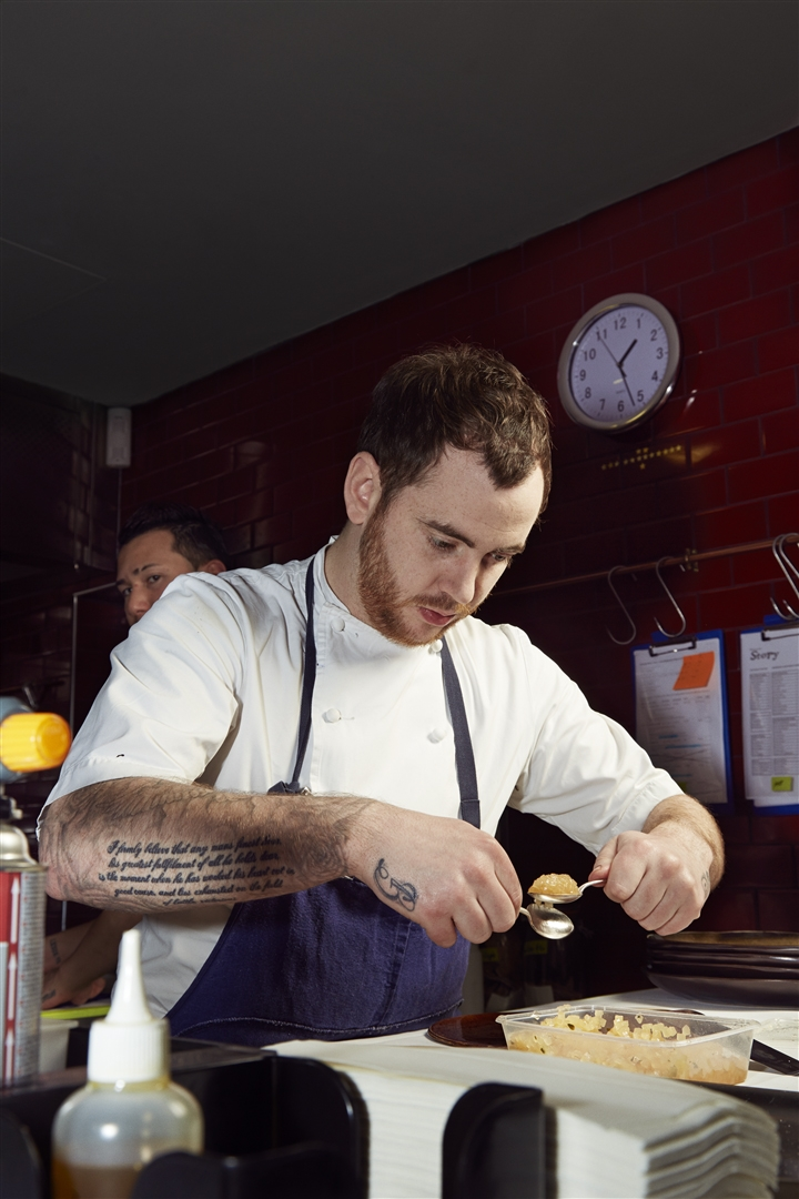 At the age of 26, chef Tom Sellers has already worked at some of the world's most renowned restaurants. Now he's running his own — called Restaurant Story — in London.