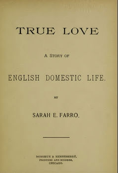 The title page for 'True Love.'