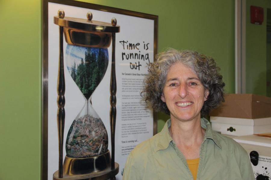 Environmental campaigner Valerie Langer