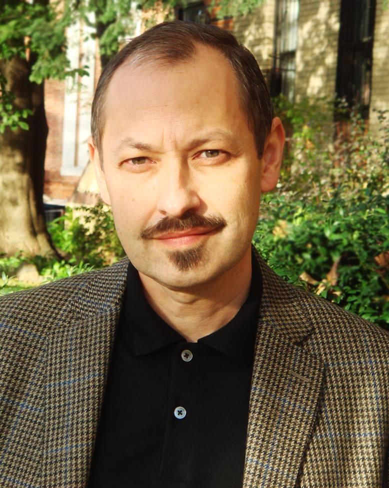 Vadim Yarmolinets, morning show host of Davidzon Radio, a Russian-language radio station in New York.