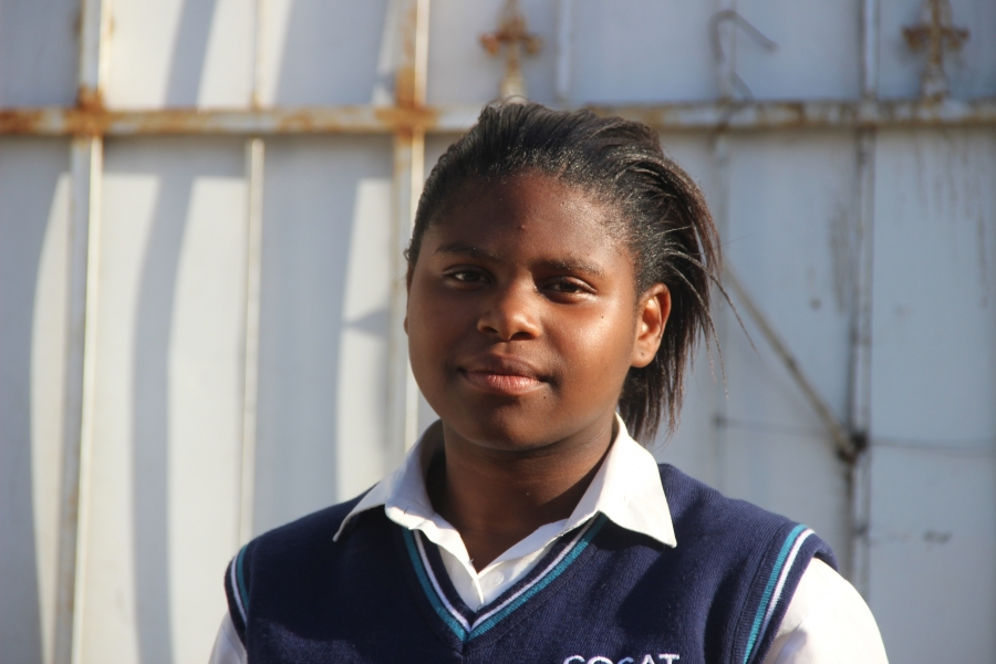 Tandie Nkosi is a senior at the Centre of Science and Technology.