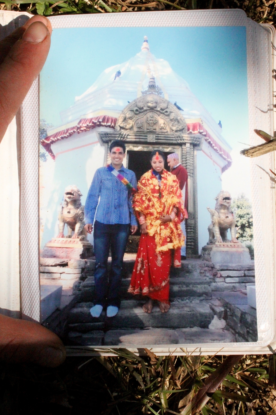 Bishnu's wedding photo