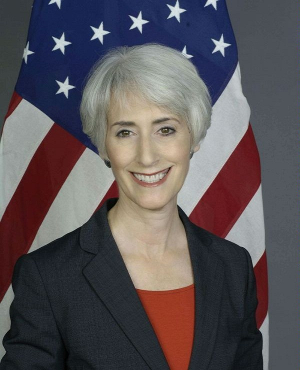 Wendy Sherman, US Under Secretary of State for Political Affairs