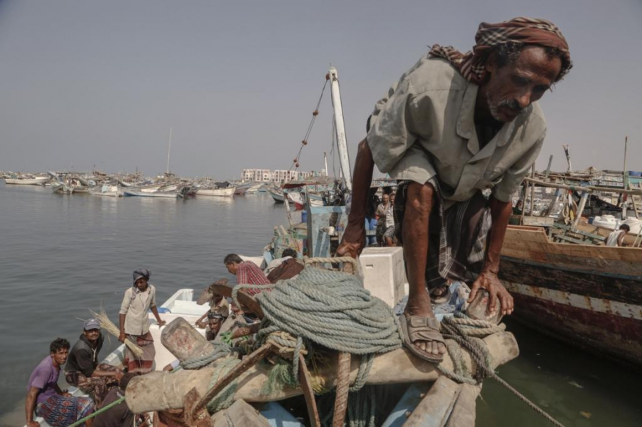 Hudeidah, the country's fourth-largest city, and home to 400,000 people, is world-renowned for its fishing industry. But its fishermen are now the targets of airstrikes.