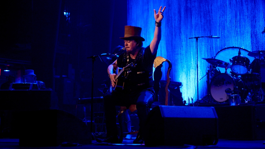 Zucchero in concert in New York