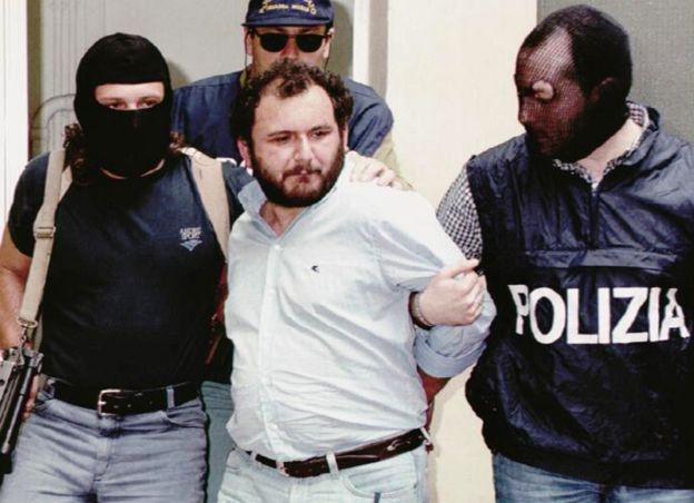 The Catturandi arrested Giovanni Brusca in 1996...