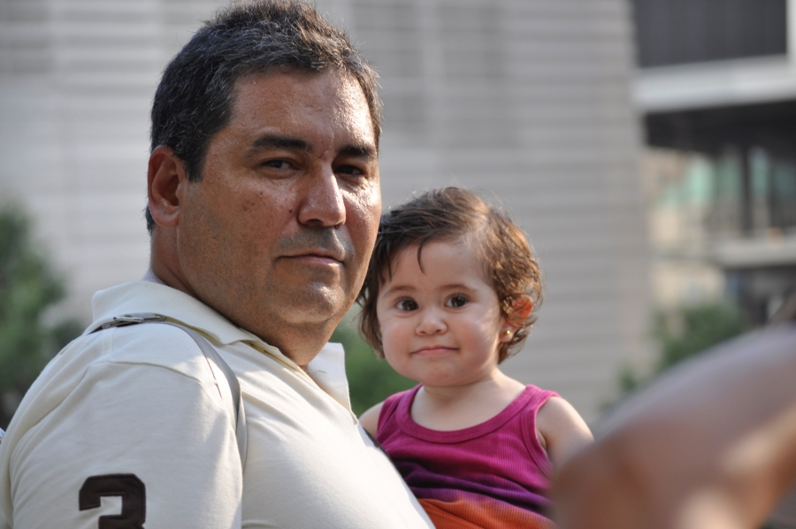 Jhonattan Navas and his wife decided to move their family from Venezuela to the US in 2000, escaping the Chávez government. Their legal status might be affected by a Supreme Court decision.