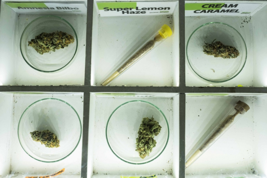 Barcelona's clubs have a menu of cannabis products for members to choose from.