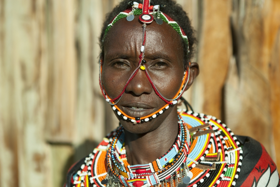 Maasai women tend to 40 acres of aloe at the Twala Cultural Manyatta.