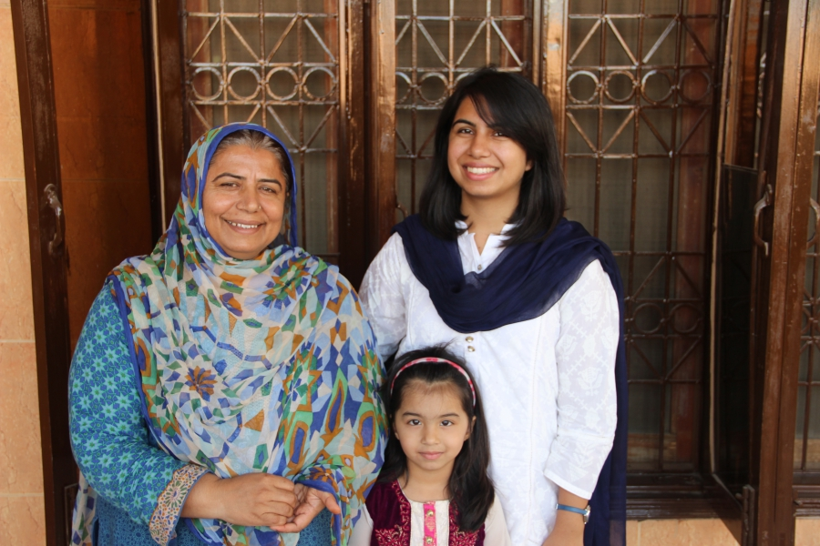 This Pakistani mother was married off as a child — but she