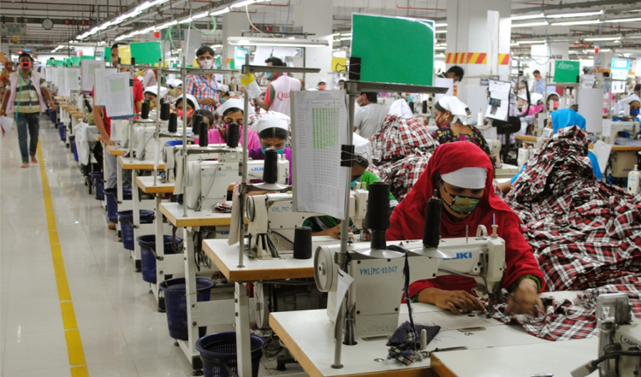 Vertex, a garment factory in Dhaka, Bangladesh, spent $1.2 million to upgrade this factory of 4,500 garment workers.