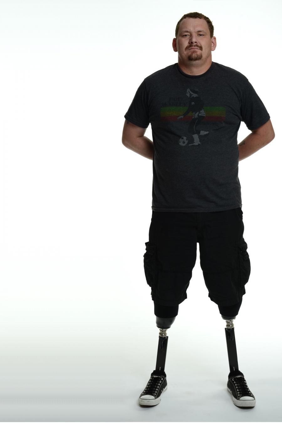 Army veteran Noah Bailey.