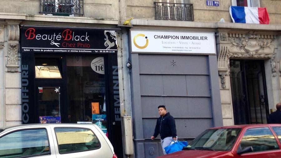 Afro hair salons paris france why the english word black for Hair salon paris france