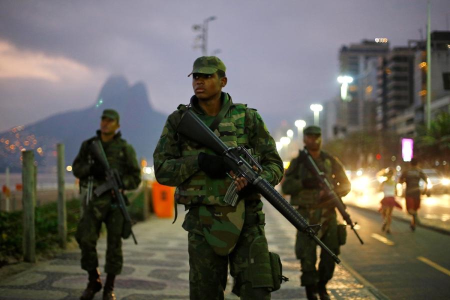Brazil Uruguay border security
