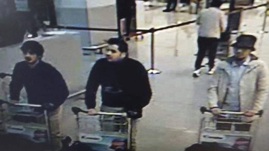 suspects in the Brussels airport attack