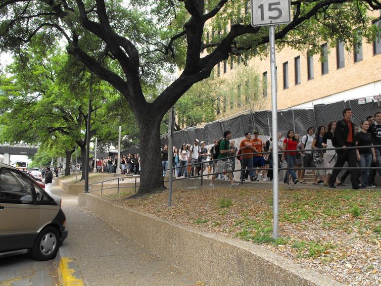 Campus gun protest