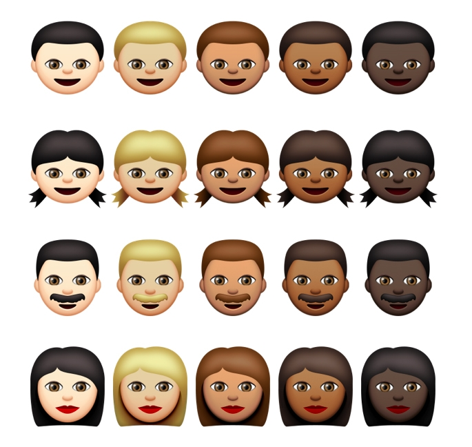 A Canadian flag emoji is included in Apple's new, racially