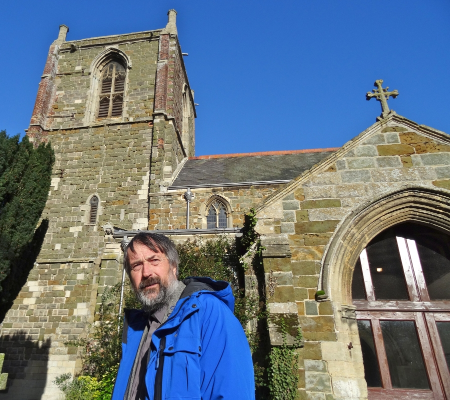 Daffyd Robinson, former rector of St Helena's Church in Willougby, Britain