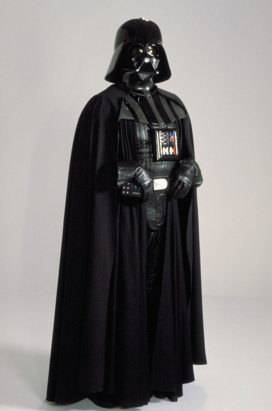 Darth Vader. Costume Design by John Mollo, Star Wars: A New Hope (1977)