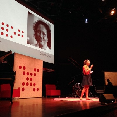 Debrah Lewis, speaking at TEDxPortofSpain, November 30, 2012.