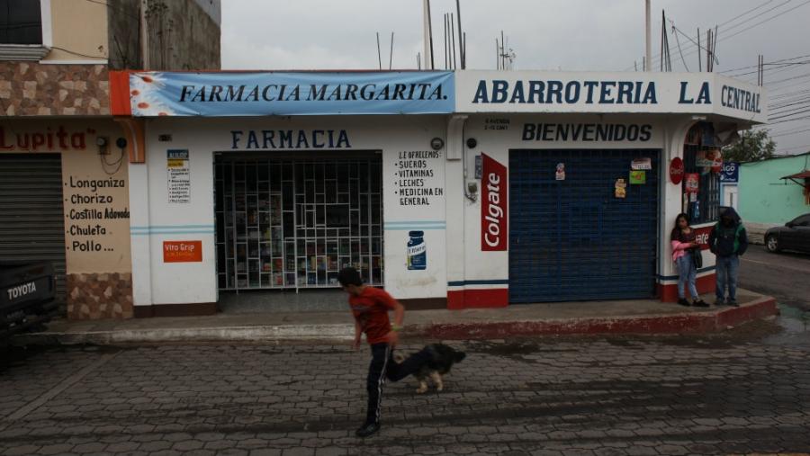 A pharmacy in rural Guatemala.