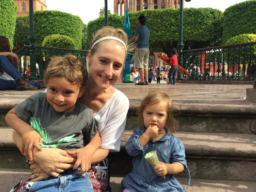 An american family finds their way in mexico after for Jardin katerina