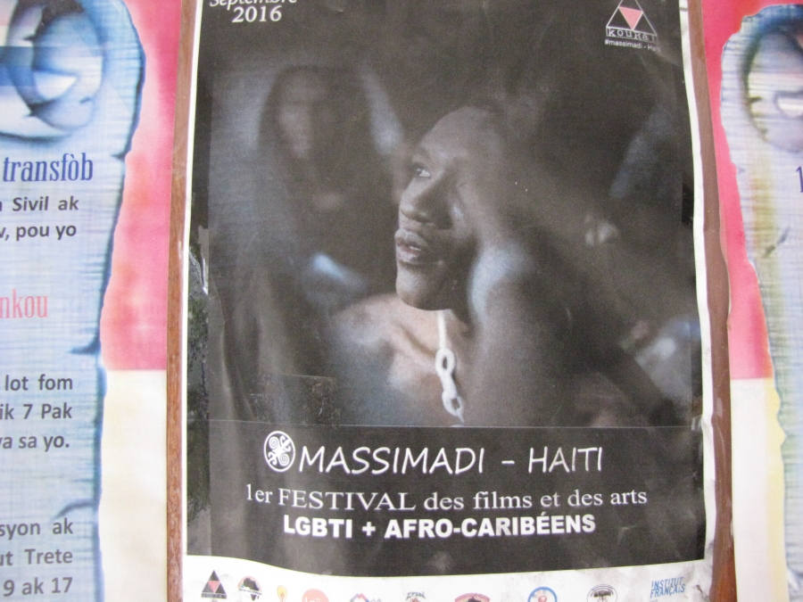 A poster for the Massimadi LGBT Film Festival. It was cancelled following protests and death threats.