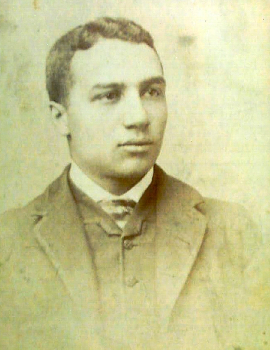 Sgt. William Nesbit, one of the hanged soldiers, as a young man.