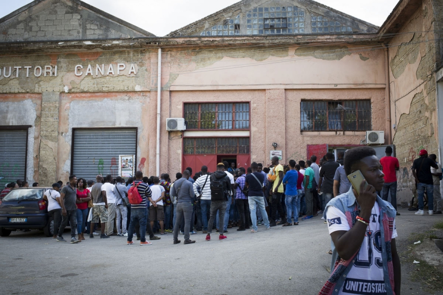 The Refugees and Asylum Seekers Movement in Caserta helps undocumented migrants secure status.