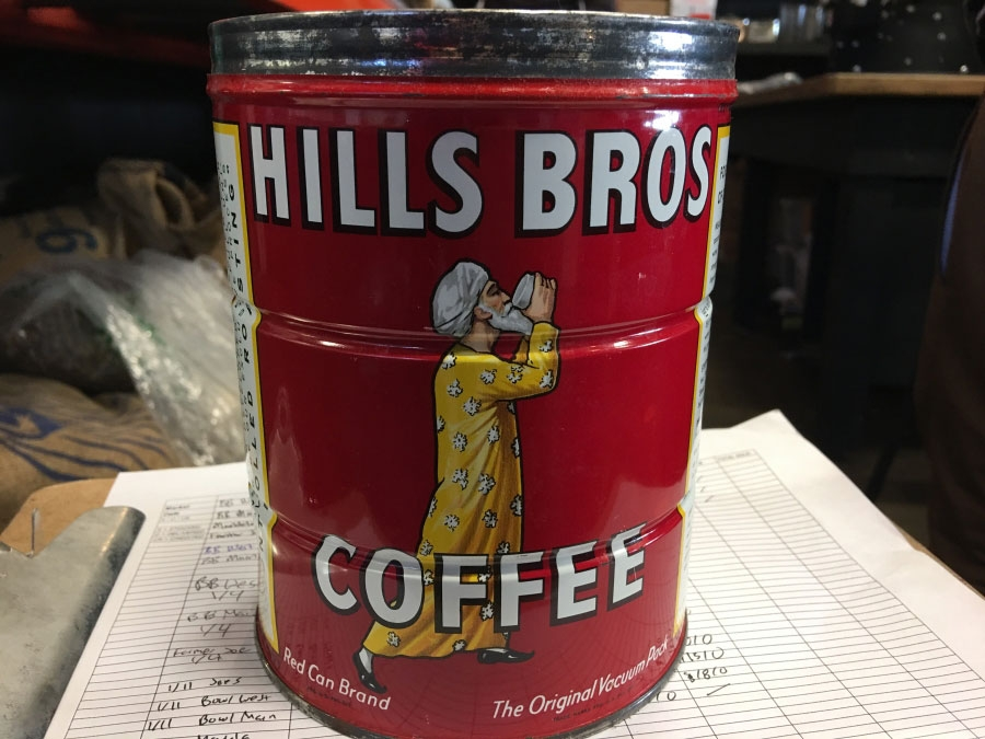 Hills Brothers Coffee can