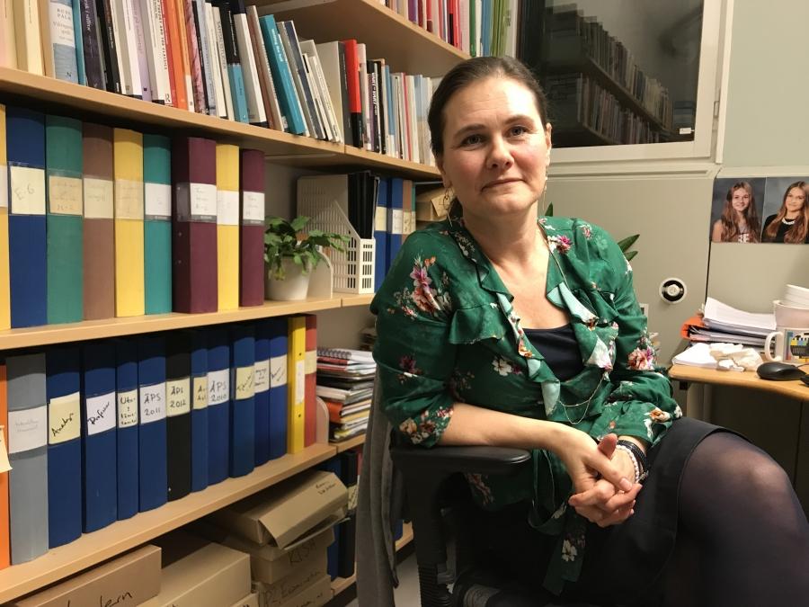 "Karin Milles is a professor of Swedish at Södertörn Universityin Sweden. She has studied the usage of the Swedish gender neutral pronoun ""hen."""