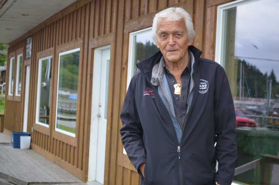 Namgis First Nations Chief Bill Cranmer says conventional open-water salmon farms have contributed to the demise of local wild stocks and the salmon-based economy of his people.