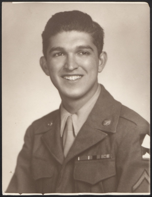 Tony Acevedo as an army medic. Photo undated.