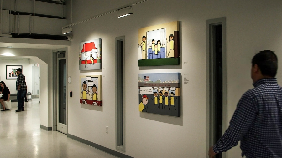 """BCNC Pao Arts Center's exhibition titled, """"Kulap: New Works by Bren Bataclan."""""""